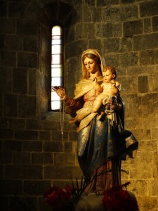 Mater Santissima….