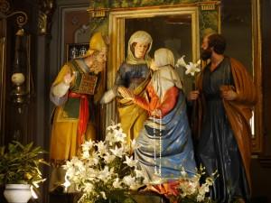 La Madonna del Rosario….
