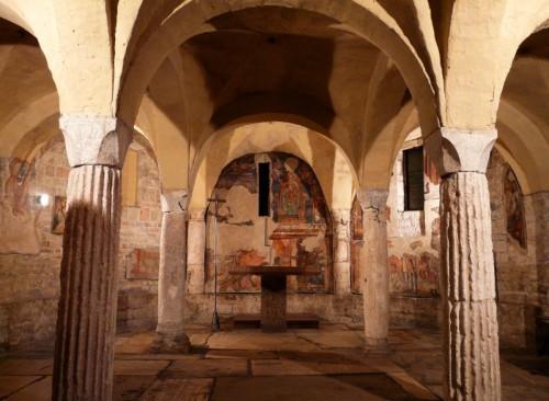 Spoleto - Cripta di Sant' Isacco