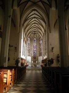 Bolzano, Chiesa dei Francescani