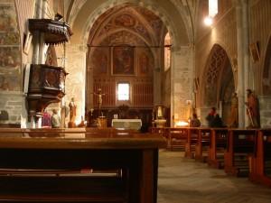 Sampeyre, chiesa di San Pietro e Paolo