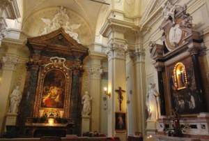 Chiesa del Suffragio, a Cesena , di fronte al Ridotto.