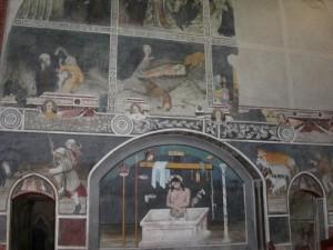 affreschi dell'abbazia di Sant'Antonio di Ranverso