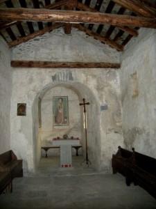 Novalesa, cappella Santa Maria