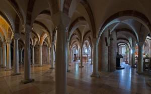 La cripta delle 64 colonne
