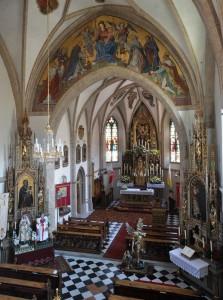 dal coro - Chiesa Parrocchiale di Maria Assunta