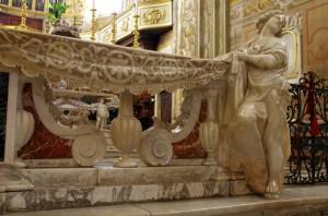 L'altare maggiore….