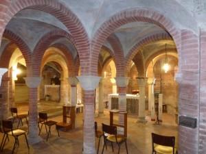 La cripta romanica