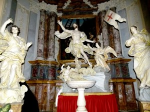 """La """"Cappella del Battistero nella Collegiata ss. Pietro e Paolo"""