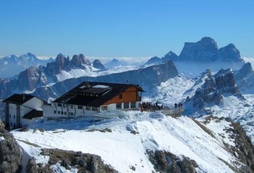 Cortina d'Ampezzo - Sorvolando il Lagazuoi