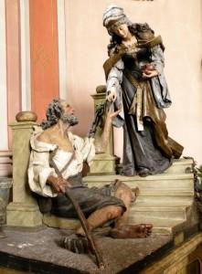Santa Elisabetta e il mendicante