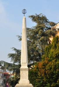 Obelisco di Rivoli dedicato a Giovanni Battista Beccaria