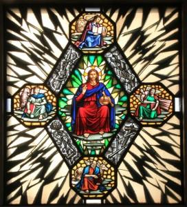 Gesù e i quattro evangelisti
