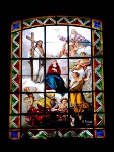 Vetrata della Chiesa parrocchiale di sant'Eusebio