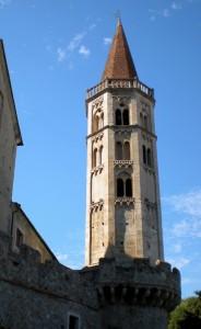 Il campanile ottagonale di S. Biagio