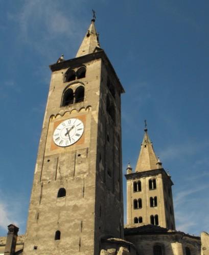 Aosta -  Campanile della Cattedrale di Aosta