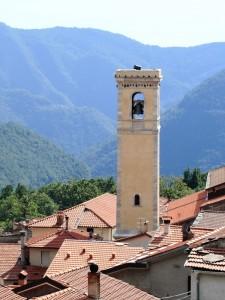Campanile della chiesa di Levigliani