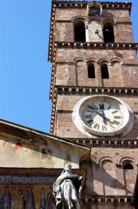 Campanile in Trastevere