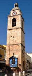 Campanile cattedratico con la Madonna di Siponto