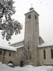 Preghiamo, che finisca di nevicare