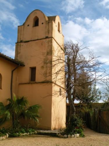 Sabaudia - il campanile della Sorresca