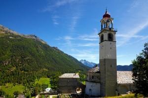Il campanile di Antagnod