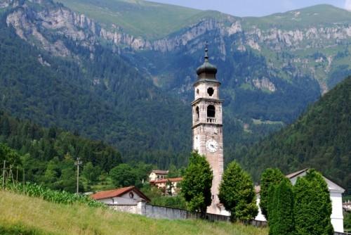 Sovramonte - Campanile Chiesa di Aune (BL)