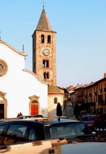 SANT'ANTONINO DI SUSA Campanile della Chiesa Parr. di Sant'Antonino Martire