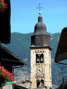 Pré-St-Didier - Campanile della Chiesa Parrocchiale di San Lorenzo