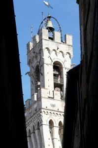 """""""Cella campanaria"""" de la Torre del Mangia (Siena)"""