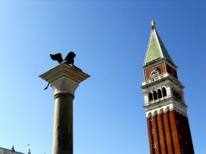 """""""El parón de caxa"""".  Campanile di San Marco Venezia"""
