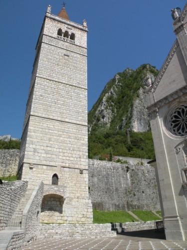 Gemona del Friuli -  il campanile di gemona