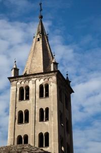 Campanile della Cattedrale di Aosta