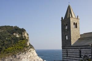 La Chiesa di San Pietro, sul promontorio di Porto Venere