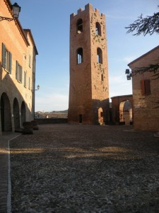 torre campanaria del castello….