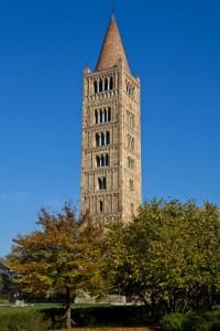 Il campanile dell'Abbazia