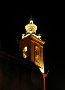 il campanile  di S. Vincenzo