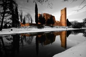 Neve sul Castello dei Tempesta