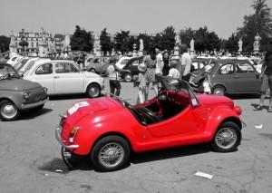 Raduno di FIAT 500