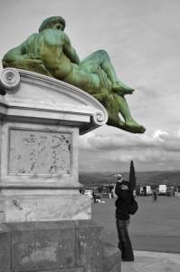 Turista a Firenze