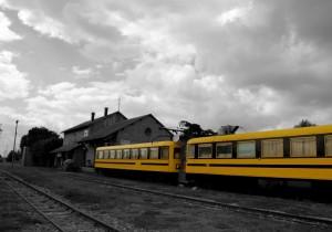 Trenino a scartamento ridotto della Sila : stazione San Nicola