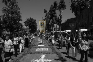 Processione del Corpus Domini a Vejano