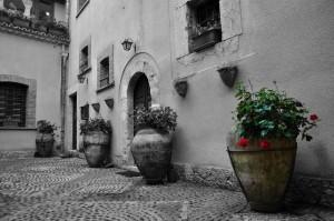 L'antico cortile