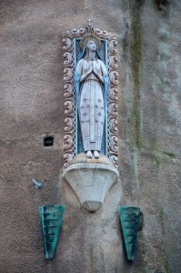 Madonnina in Piazza Duomo