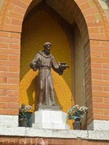 San Francesco che predica