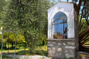 All'ingresso di Sanico, all'incrocio con Via Sant'Ambrogio