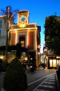 Angolo di Piazza T. Tasso con Via San Cesareo- Sorrento