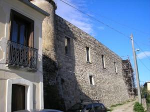 Castello - Restauro lato Nord/est -