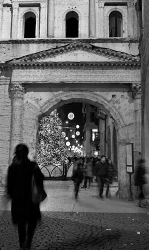 Verona - scende la sera....si accendono le luci!