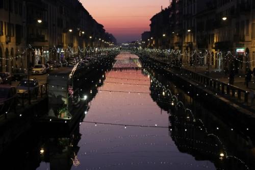Milano - Rosso di sera...
